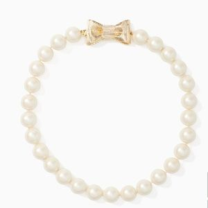 NWT Kate spade all wrapped up in pearls necklace